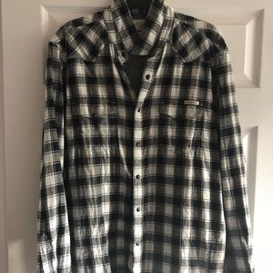 Lucky Brand long sleeve button down shirt XL